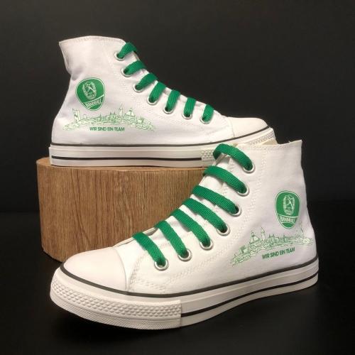 Junior Canvas Schuh High Top