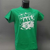 Herren T-Shirt Handballmotiv