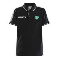 CRAFT Poloshirt Pro Control schwarz für Kinder