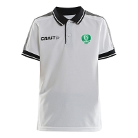 CRAFT Poloshirt Pro Control weiß für Kinder